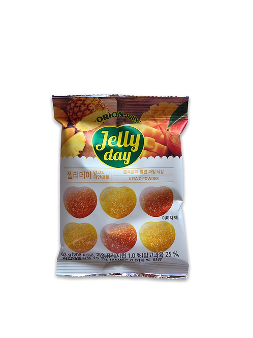 "Gomitas Jelly ""DAY"", sabor piña y mango"