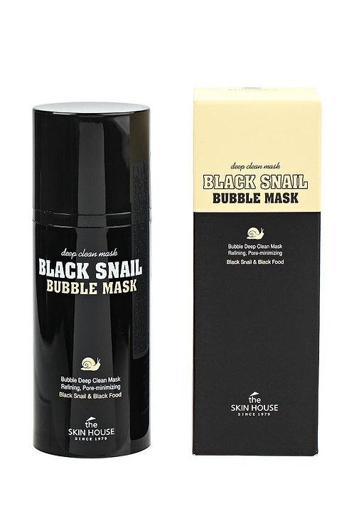 Black Snail - Bubble Mask