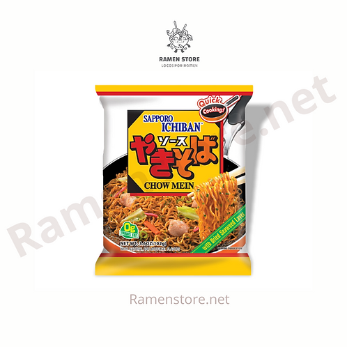 Ramen Sabor Chow Mein [Sin sopa, Sin Picante] Japones