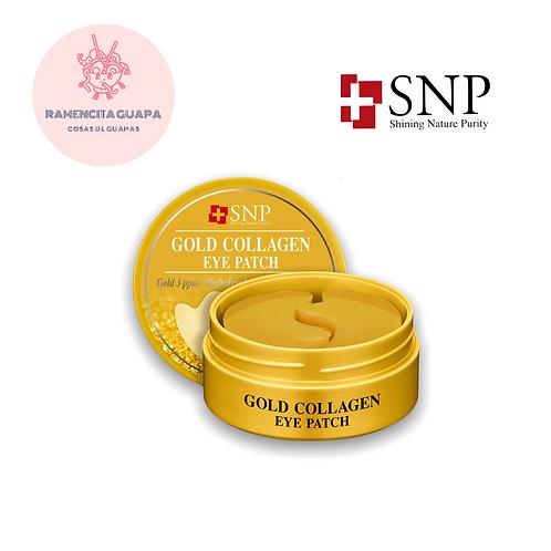 SNP Gold Collagen Eye Patch - PARCHE DE CONTORNO DE OJOS DE HIDROGEL CON COLAGEN