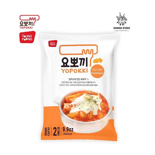 Teobokki Yopokki Queso Grande Semi picante