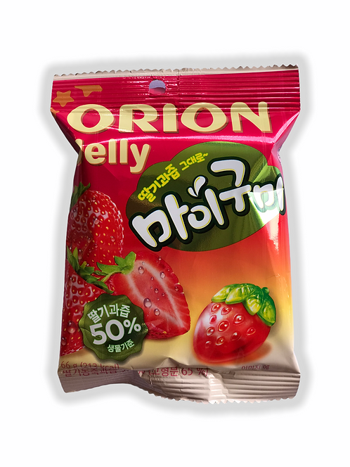 Gomitas Jelly Orion Frutilla