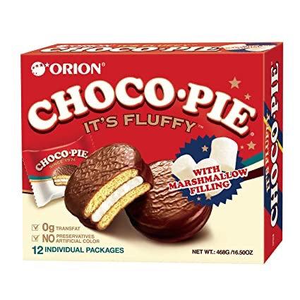 Chocopie Orion 12 unidades