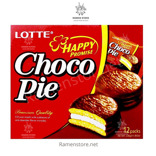 Chocopie Lotte - 12 Unidades