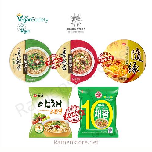 Pack Vegano [Coreano & Taiwanes]