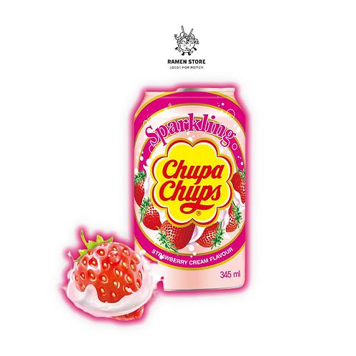 Bebida Gaseosa Chupa chups  - Sabor frutilla