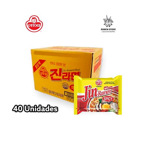 Jin Ramen Hot Caja [40 Unidades | 5x8]