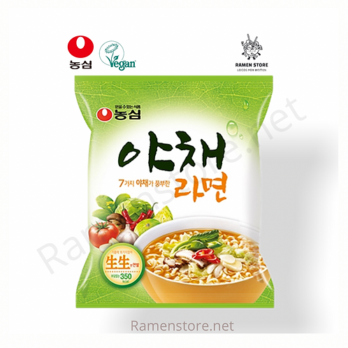 Ramen Vegetal Spicy 100g - Picante nongshim