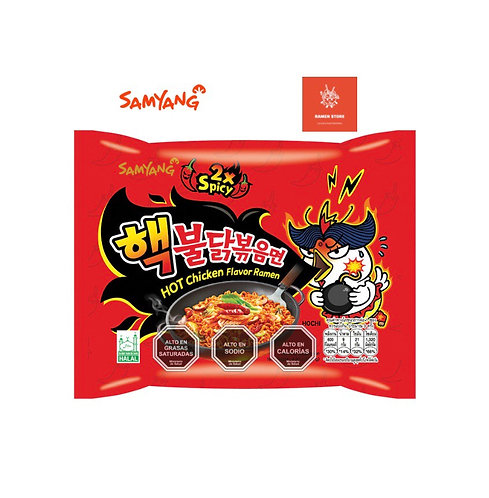 Buldak Bokum 2X Spicy [Extrapicante Nivel 4]