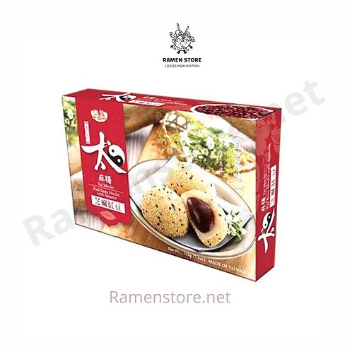 Mochi Full Relleno Sesamo [Centro de pasta de poroto Rojo] Taiwanes