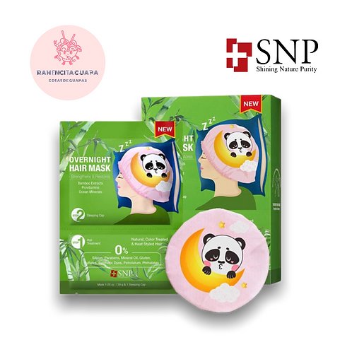 OverNight - Hair Mask Bamboo SNP