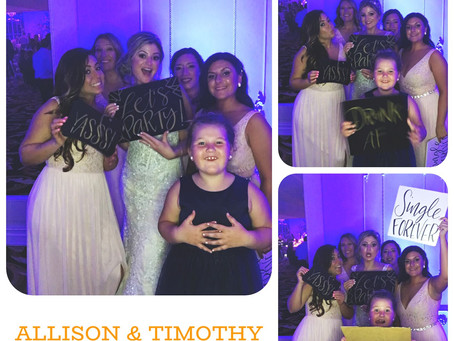 Allison & Timothy Social Booth Pictures  West Mount Country Club New Jersey