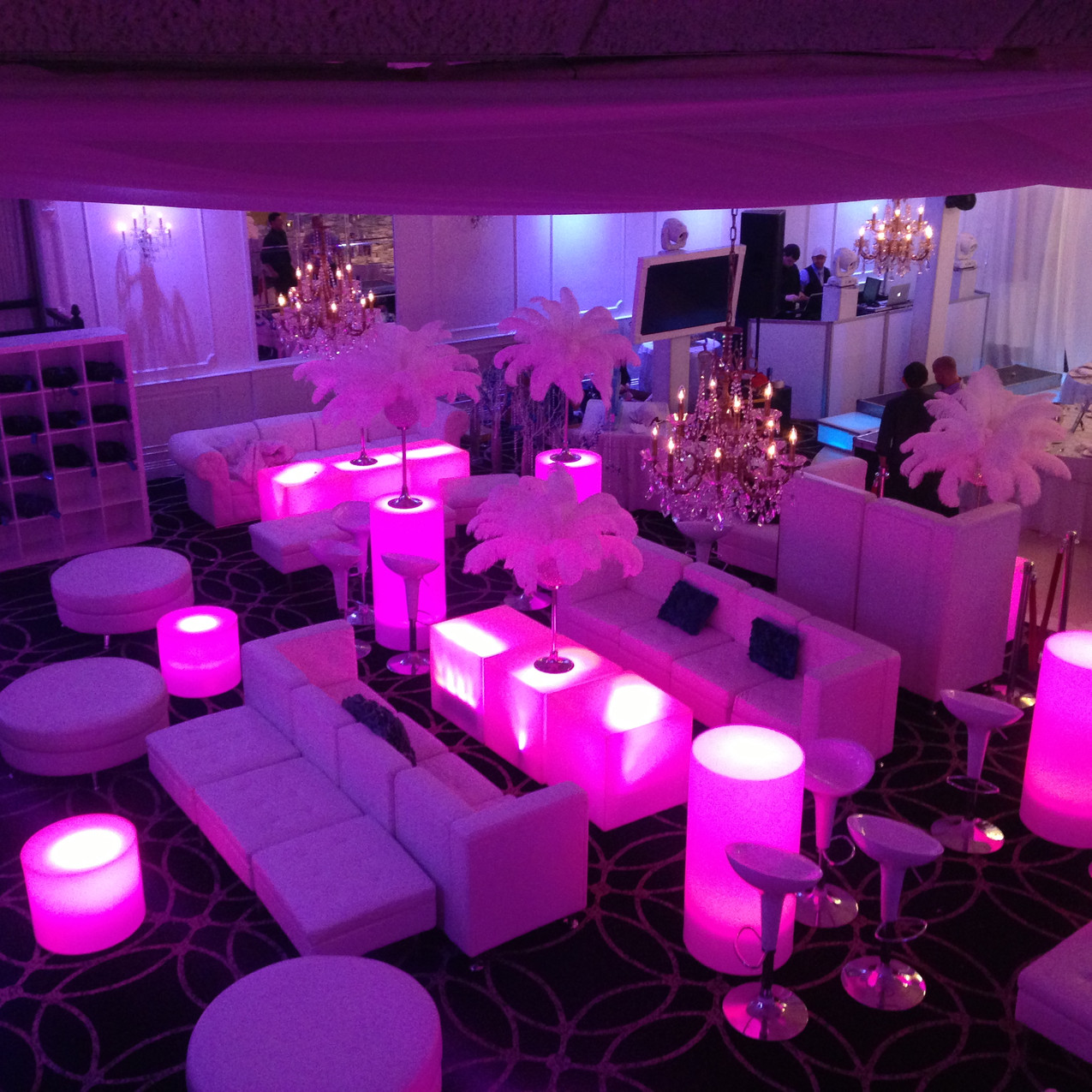 Gramercy lake side nj, lounge furniture, event feurniture nj, nj wedding after party, wedding after party new jersey