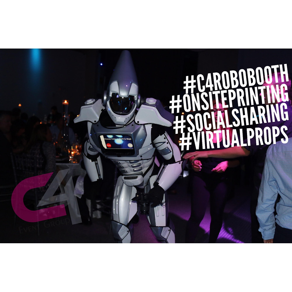 The Newest Concept in Event Branding #c4robobooth