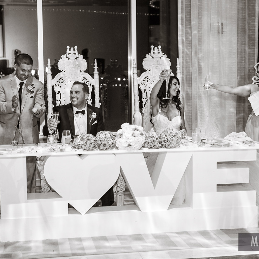 LOVE TABLE RENTAL, BRIDE & GROOM TABLE RENTALS, STATEN ISLAND WEDDING DJ C4,HILTON STATEN ISLAND WEDDING DJ