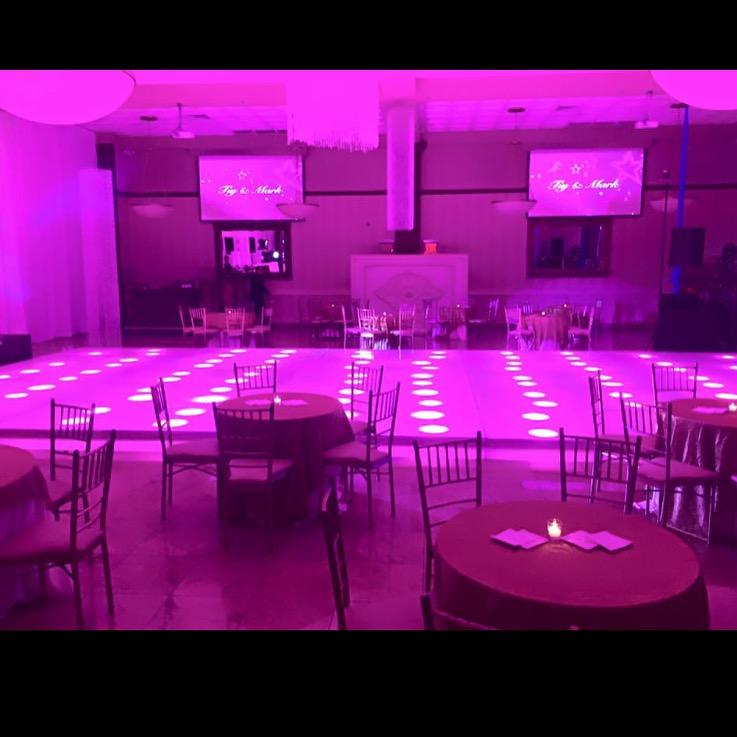 south gate manor nj illuminated dance floor, dance floor rental nj, freehold nj dance floor , freehold event rentals c4, c4 freehold nj event rentals