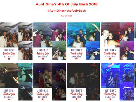 #FLASHBACKFRIDAY  AUNT GINA'S 4TH OF JULY BASH!