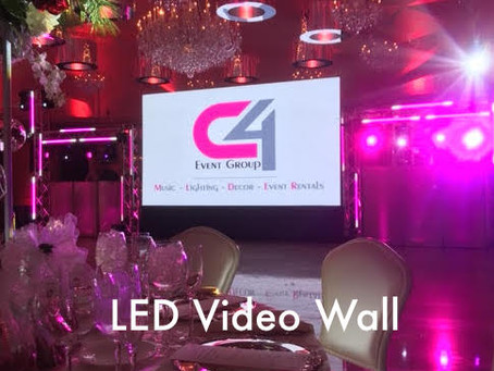 Video Wall Rental West Mount Country Club New Jersey