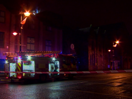 Belfast Multi Cultural Association Fire