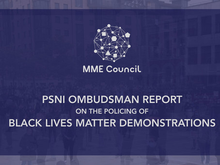 Ombudsman issues critical report over policing of BLM demonstrations