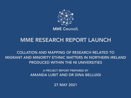 MME Research Report launched