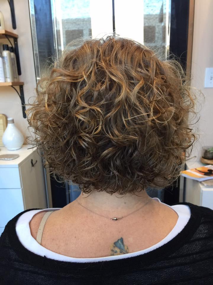 Curly Haircut