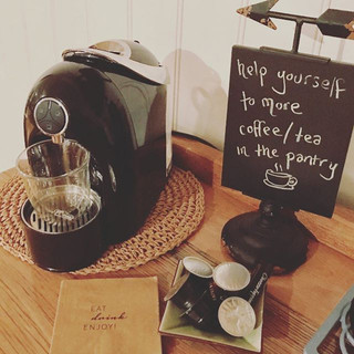 Coffee Machine & Pods Provided