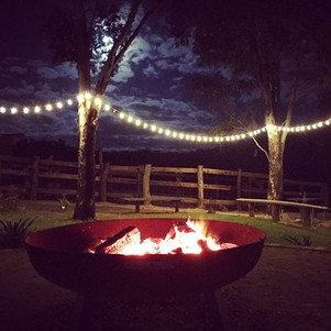 Enjoy a Wine By The Fire Pit