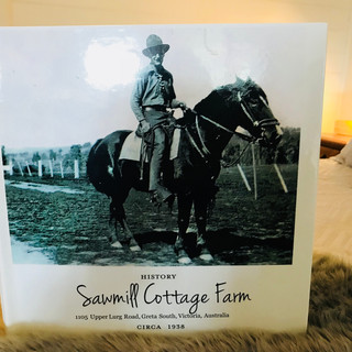 Sawmill Cottage Book