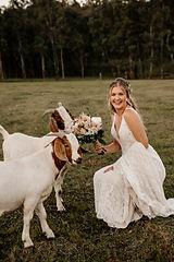 Jade & the goats