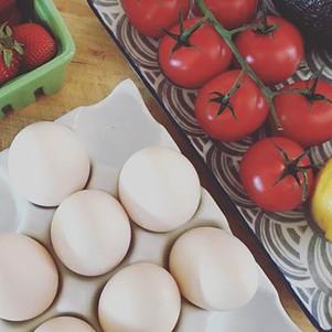 Seasonal Produce Provided When Available