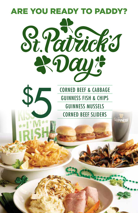 223563 M&S St. Patrick's Day 2020- Menu.
