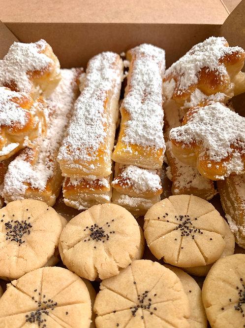 Persian Rice Cookies & Zaban Puff Pastry