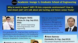Dr. HEM Ramrav joined an international career talk as a speaker