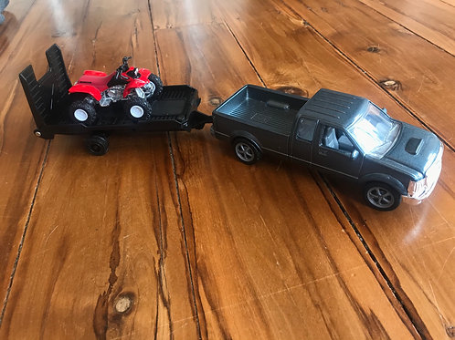 Pickup & 4-wheeler set