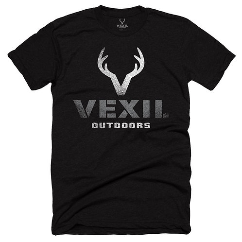 Vexil Outdoors - Distressed Logo in Black