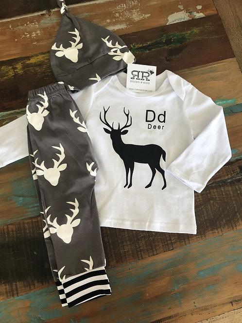 Dd for Deer