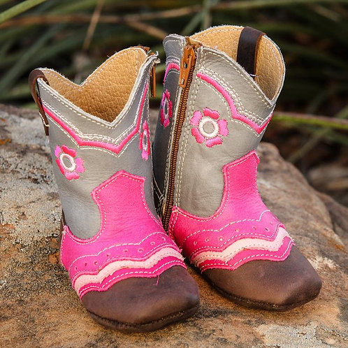 """""""Charlie"""" Flower boots"""