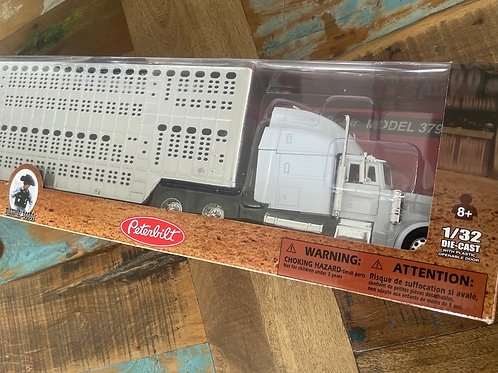 PeterBuilt semi with cattle stockcrate