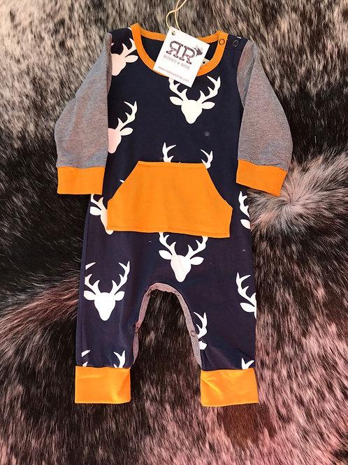 Deer jumpsuit