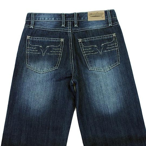 King Steer Jean - Medium Wash