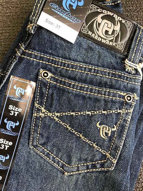 Barb Wire logo Jeans - Dark wash