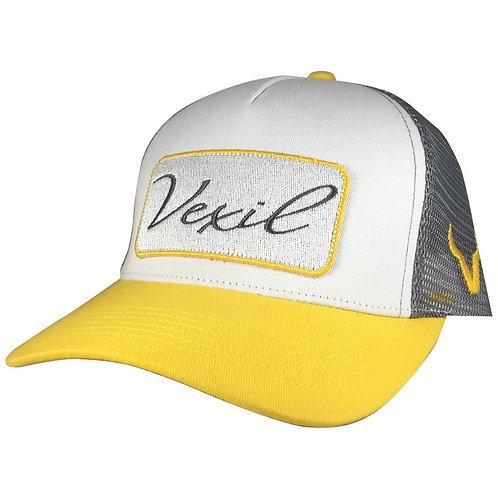Vexil Brand - Patch - Yellow/White/Gray Mesh