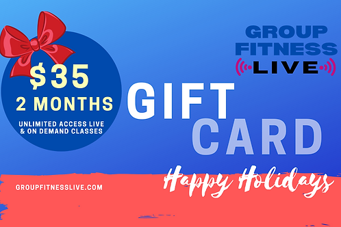 Gift Card: 2 Month GFL Membership