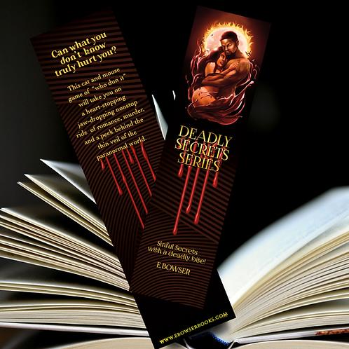 Deadly Secrets Bookmarker