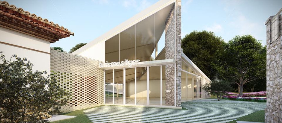 Can Milà; El nuevo centro de visitantes de Sitges