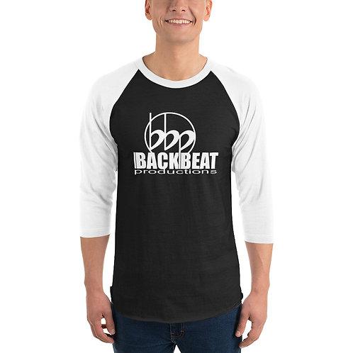 BACKBEAT PRODUCTIONS 3/4 sleeve raglan shirt