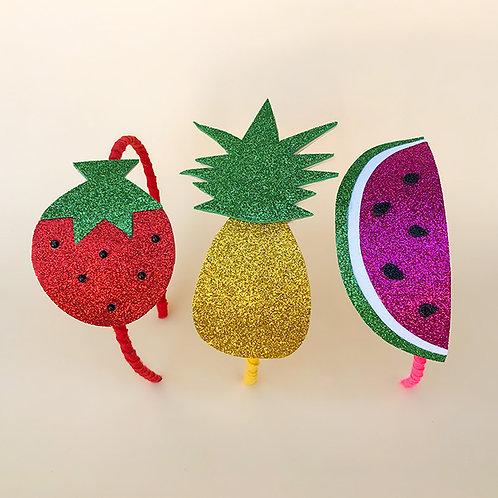 Tiara Frutas moda feminina moda infantil acessórios para meninas moda