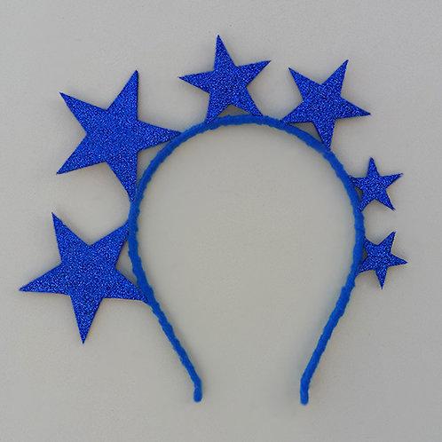 Tiara Estrelas do Hexa enfeite de cabeça fantasia copa do mundo