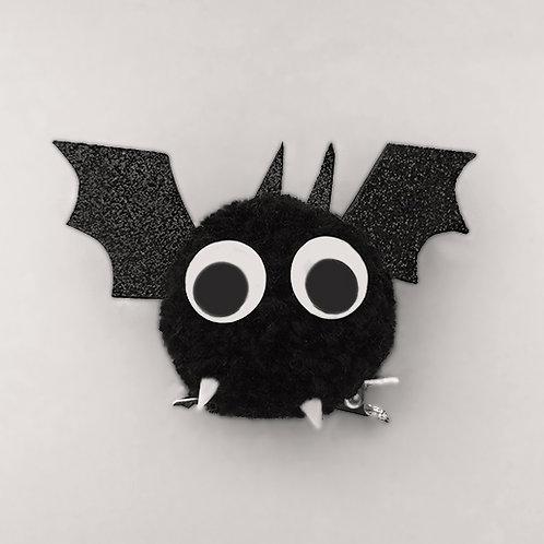 Presilha Morcego Preto moda infantil moda feminina acessórios para meninas dia das bruxas